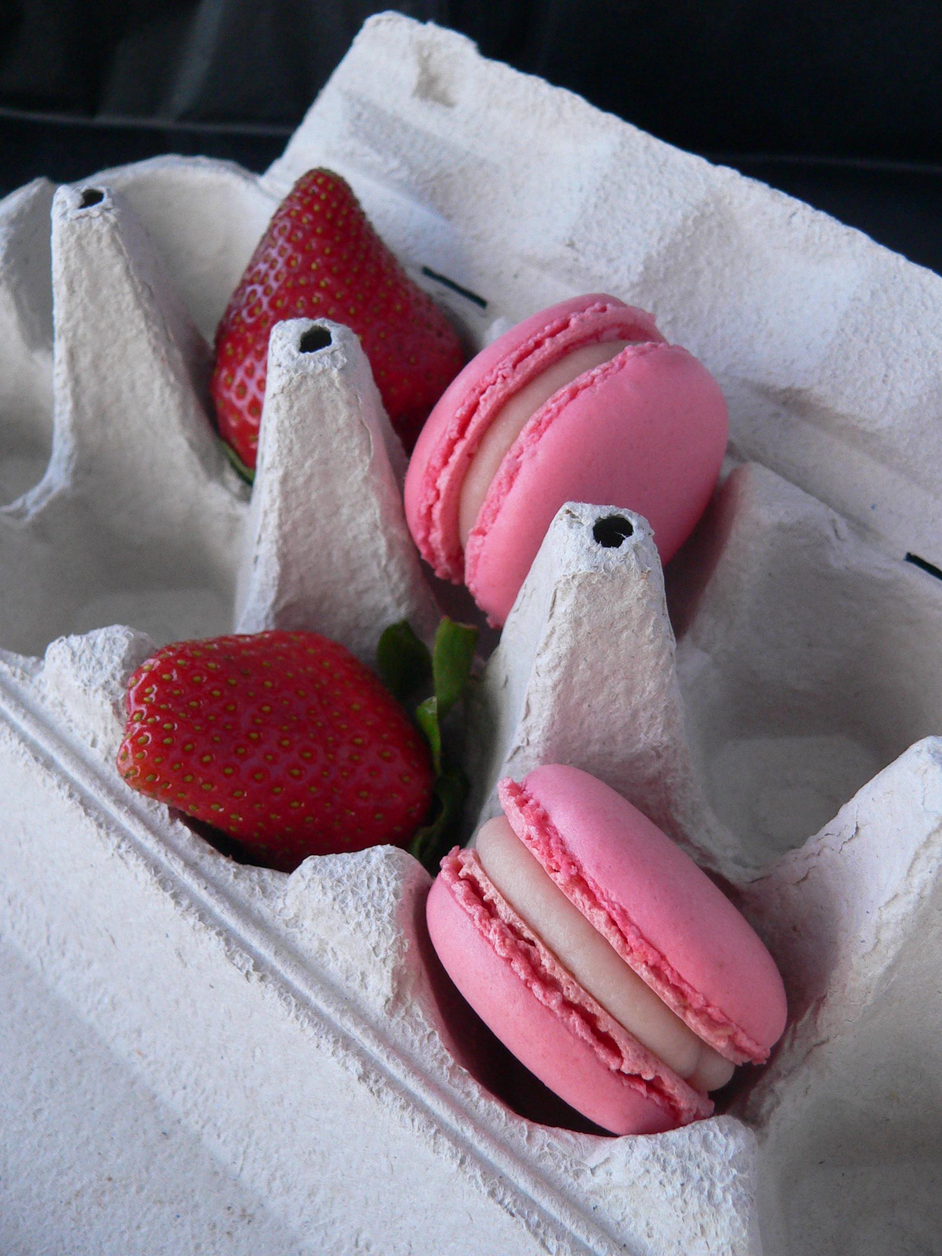 Macarons de dues maduixes 4