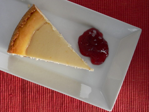 Pastís de formatge a l'estil de Nova York 2
