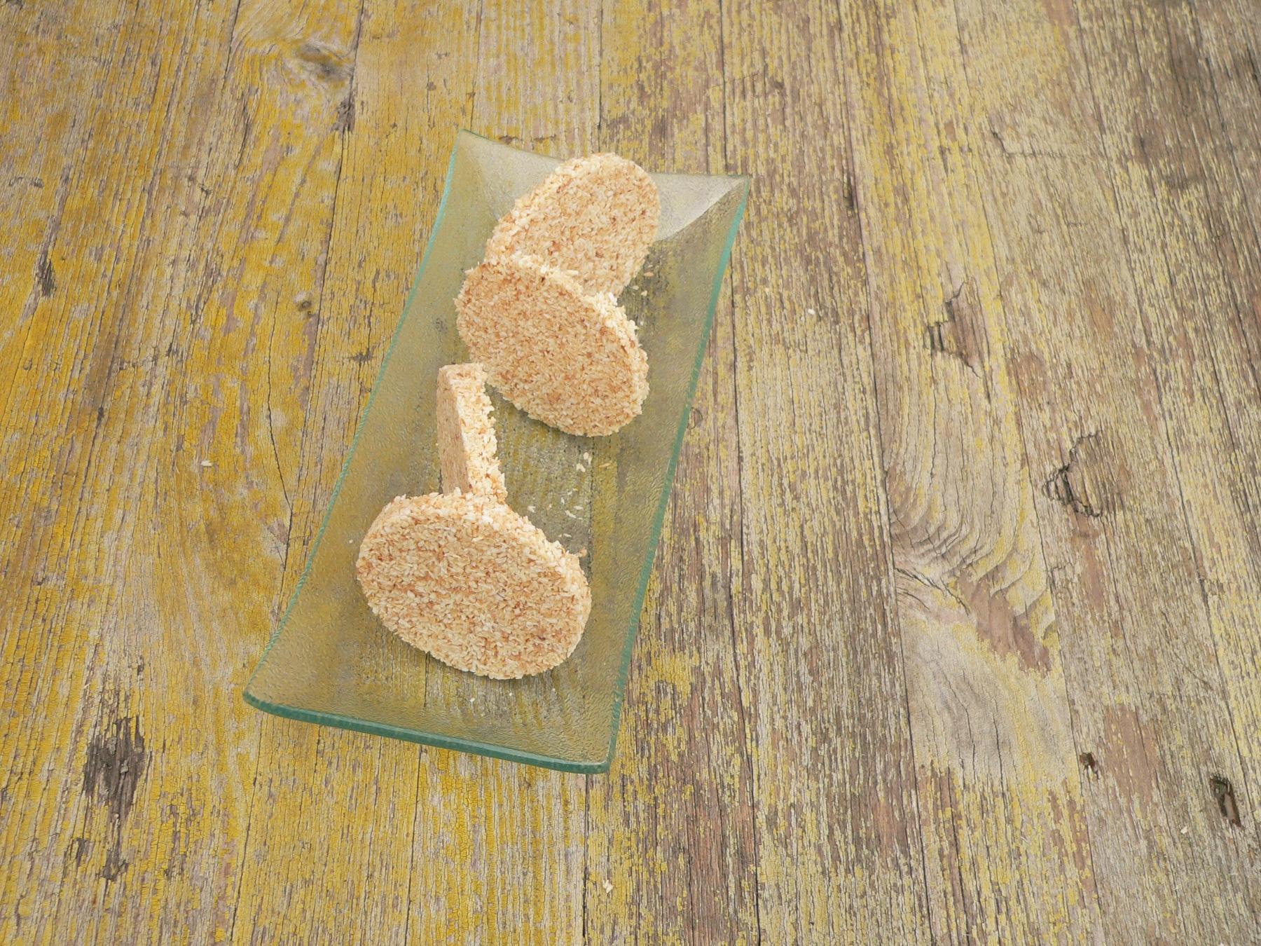 Galetes de coco torrat i xocolata blanca 0