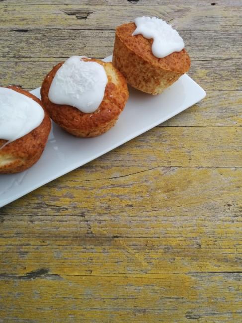 Muffins de pinya i coco 1