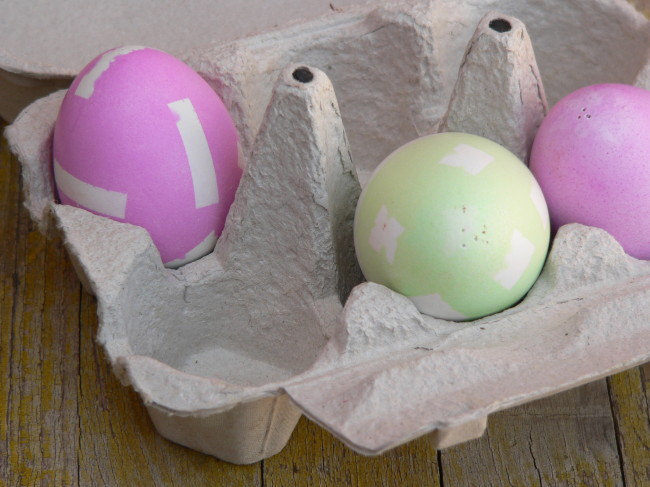 Ous de Pasqua decorats 2014