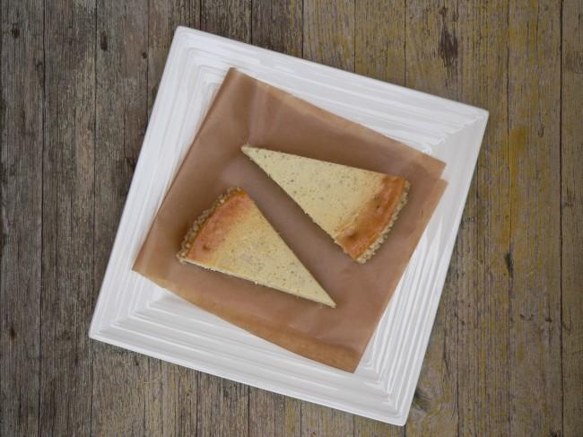 Pastís de formatge amb alfàbrega 3