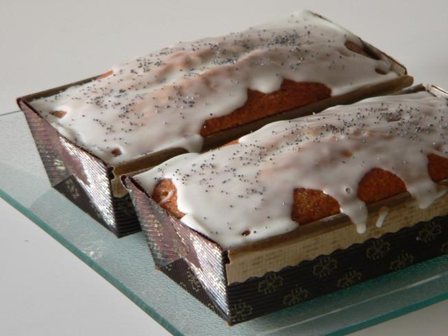 Cake de llimona i llavors de rosella 2