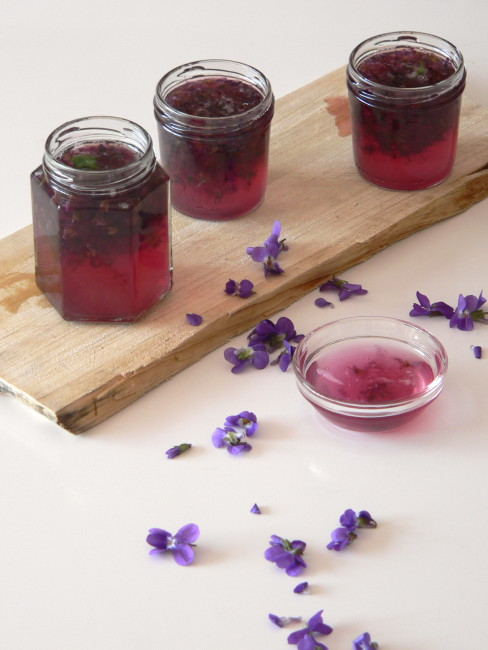 Gelea de violetes 2
