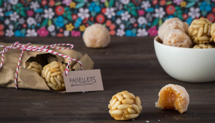 Panellets de moniato