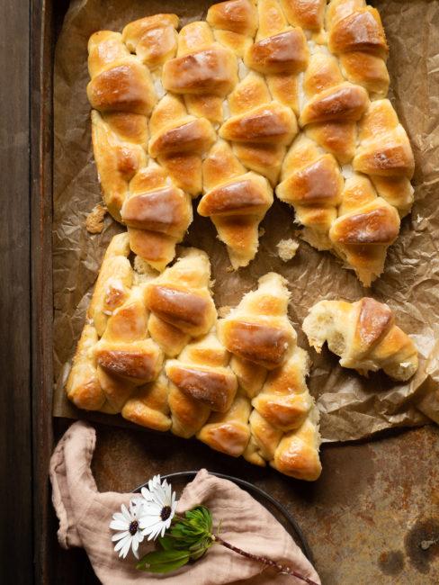 Mitges llunes de pa de plàtan